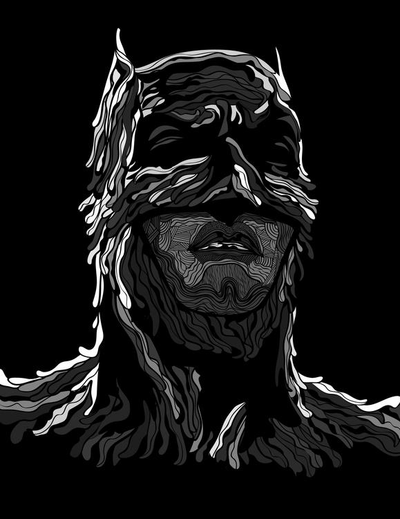 Batman - illustration, characterdesign - karylnerona | ello