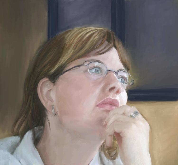 drawing, painting - marjon-4891 | ello