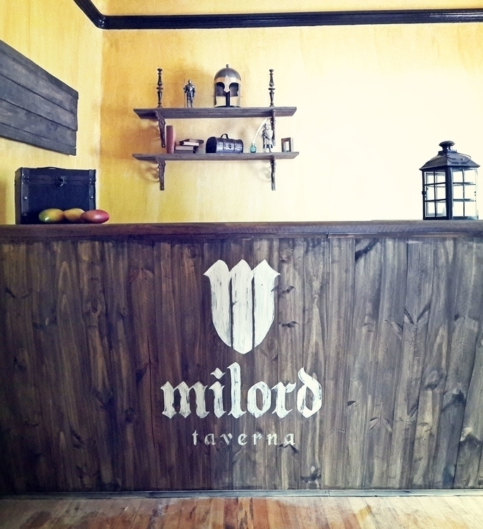 Hand painted counter medieval t - gibara | ello