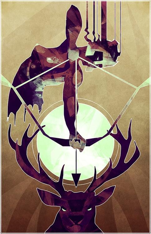 Artemis - Huntress - huntress, artemis - micaeladawn | ello