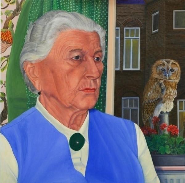 Oil Canvas 90 cm - painting - marjon-4891 | ello