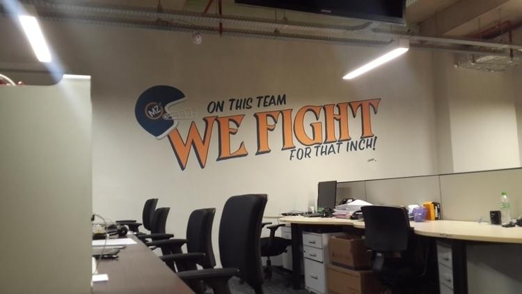 Ad agency mural - 1, signpainting - gibara | ello
