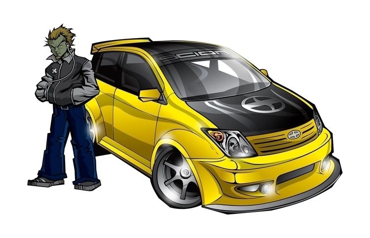 Scion comic concept art - characterdesign - jgdc | ello