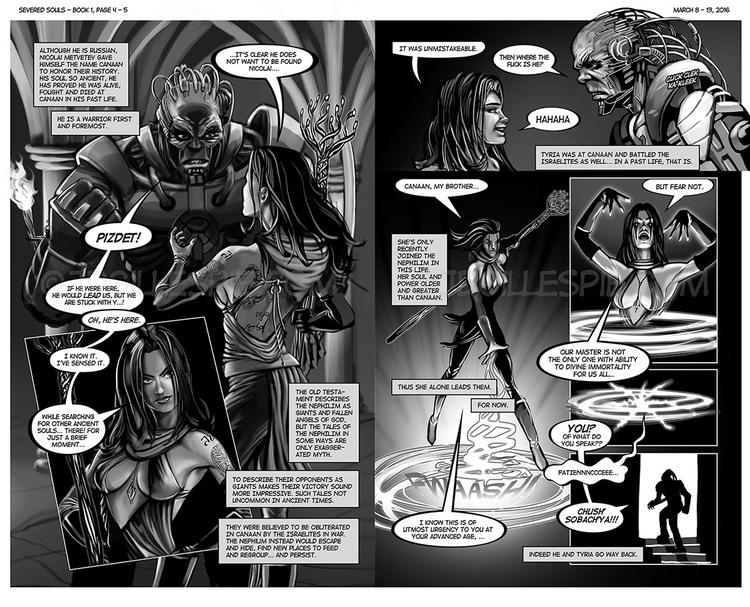 Pages 4-5 book Patreon - comicbooks - jgdc | ello