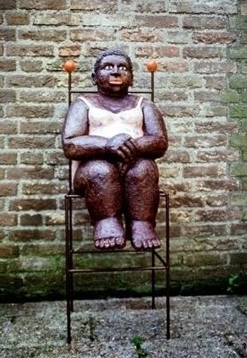 ceramics iron 125 30 cm - sculptures - marjon-4891   ello