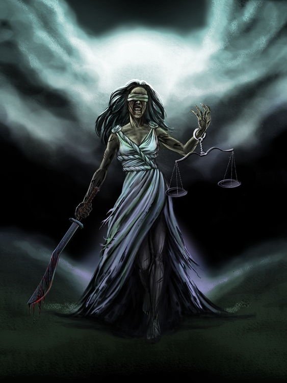 Zombie Justice - illustration, digitalpainting - jgdc | ello
