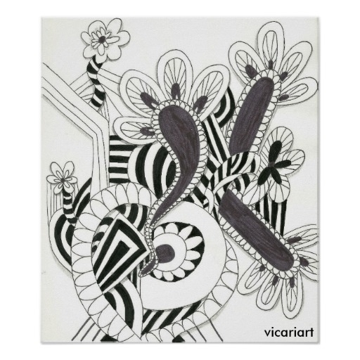 abstract interpretation flowers - vincevicari | ello