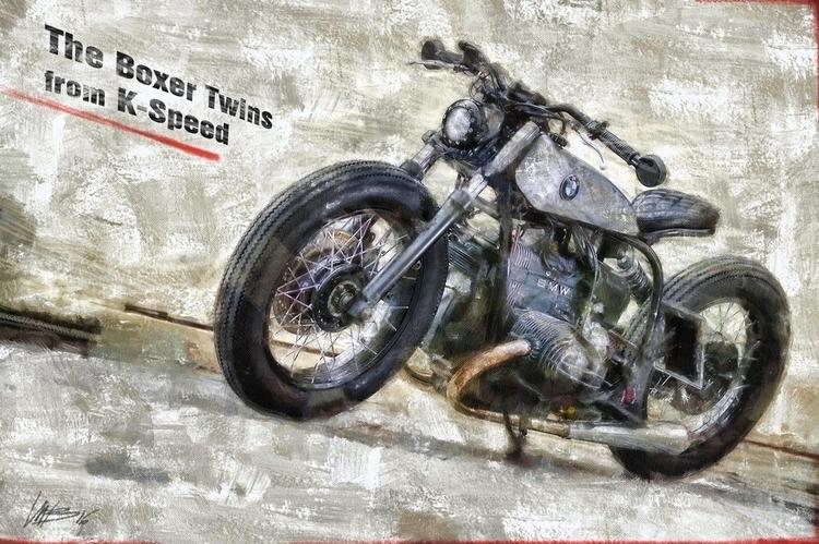 BMW Boxer Twins - motorcycle, motorbike - bariom | ello