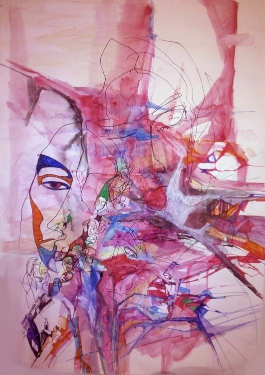 graphics_59x41 cm - olyayermakova | ello