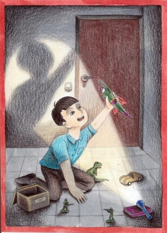 child, play, toys, illustration - efiolin | ello