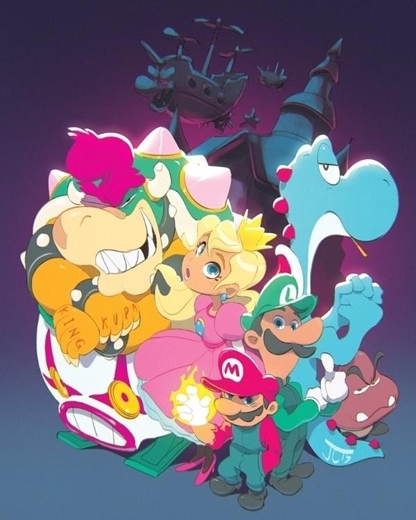 Super Mario Bros. 20XX - gaming - justinchan-1699 | ello
