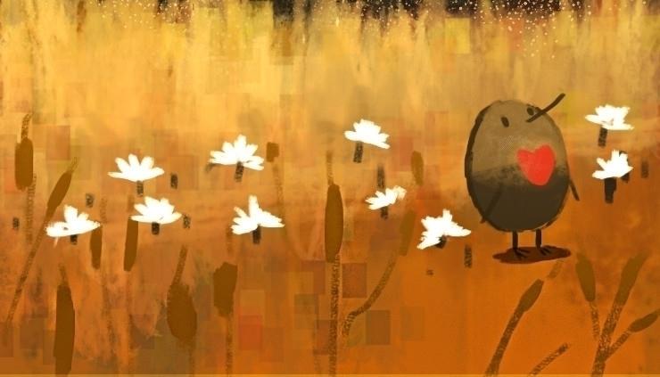 frigate bird - illustration, painting - soso-6104 | ello