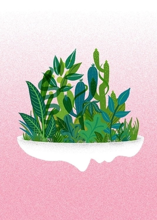 Planter - plants, face - stephaniekubo-8873 | ello