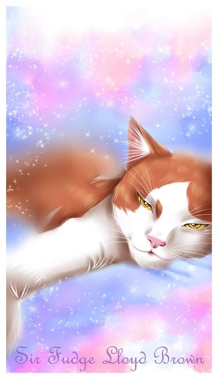 cat, Sir Fudge Lloyd Brown put  - emilybrown-9208 | ello