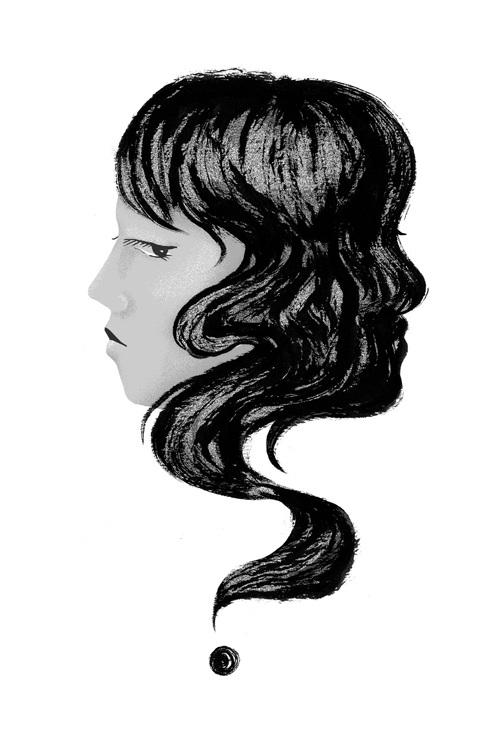 Doubt - face, shadow, hair - stephaniekubo-8873 | ello