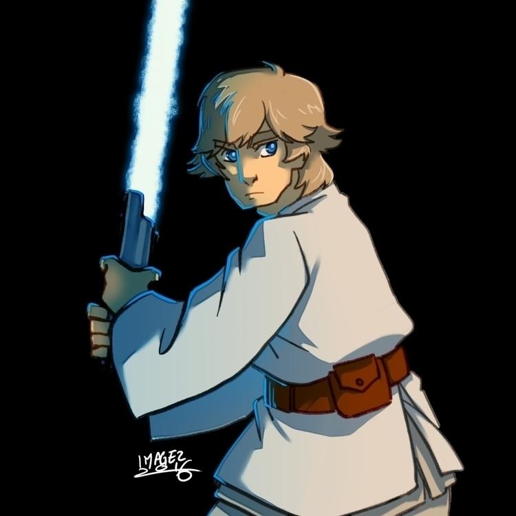 force, Luke - lukeskywalker, fanart - imagezart | ello