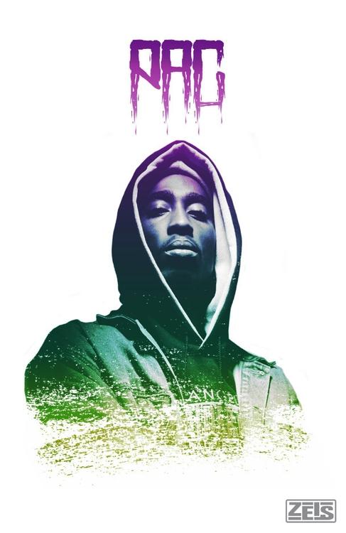 Tupac poster design - tupac, photography - zeis-7669 | ello