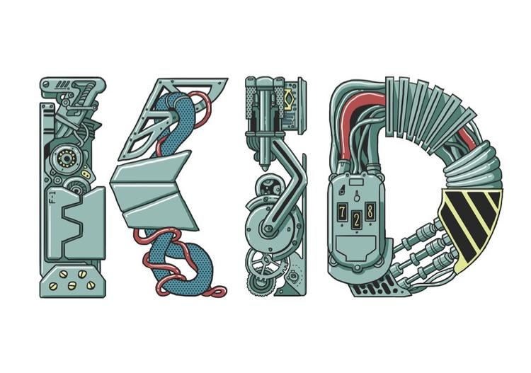 KID Kris Miklos - logo, machine - krismiklos | ello