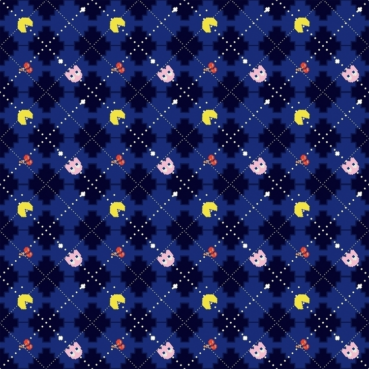 Pac Argyle - pacman, videogames - cibelle-7505   ello