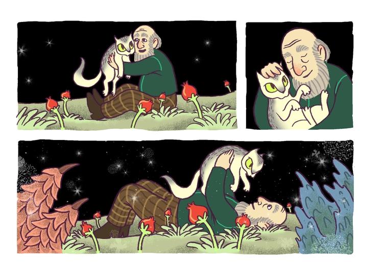 man cat. short comic book - comics - efiolin   ello