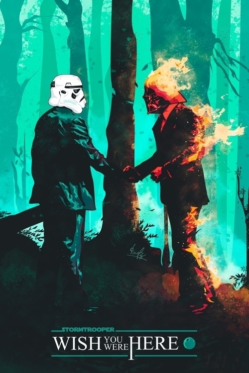 Star Wars.. prints society6.com - johnfenerides | ello