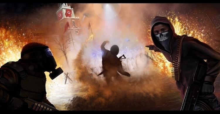 Revolution Steven Rogers 2D dig - stevenrogers-1302 | ello