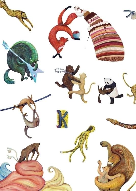 Furryland book original project - little_pencil | ello