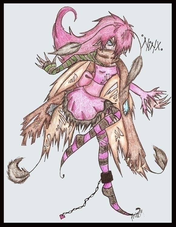 Ninx - dark Fairy - fairy, fantasyart - felishamarieart | ello