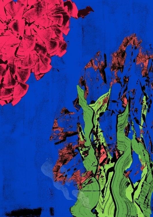 Monotype seaweed seashells - monotype - clarisse-1174 | ello
