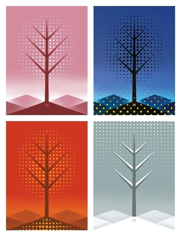 year tree - miriamdraws - miriamdraws | ello
