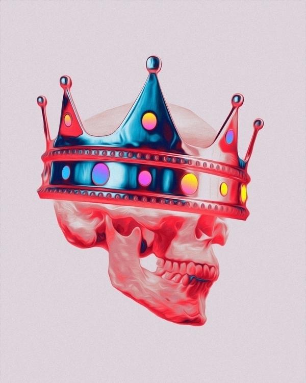 Royal - digitalart, abstract, artdaily - dorianlegret | ello