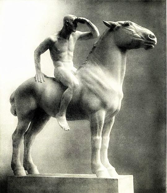 Josef Mullner: Naked Rider, 194 - arthurboehm | ello
