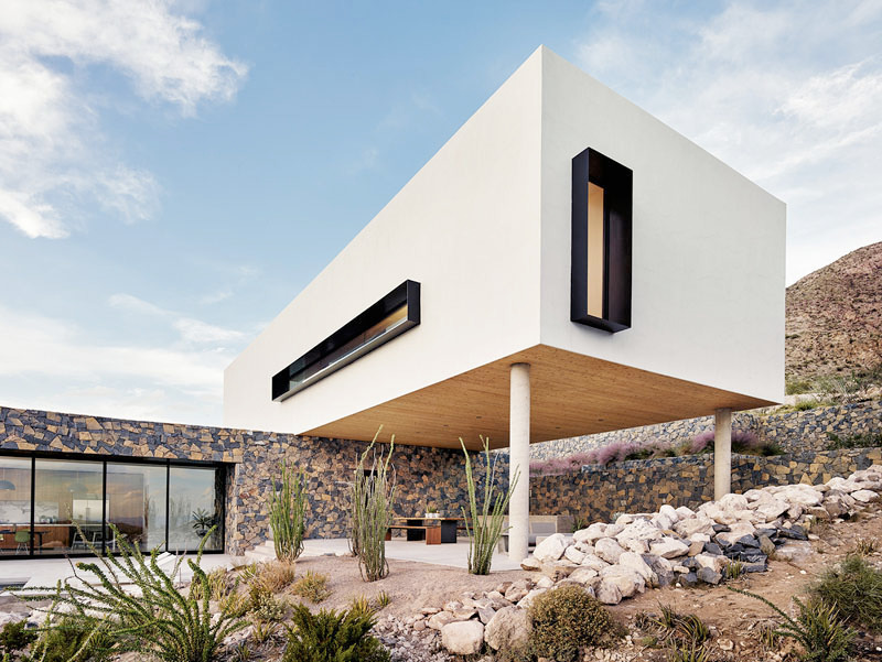 House Overlooks Desert Landscap - red_wolf | ello