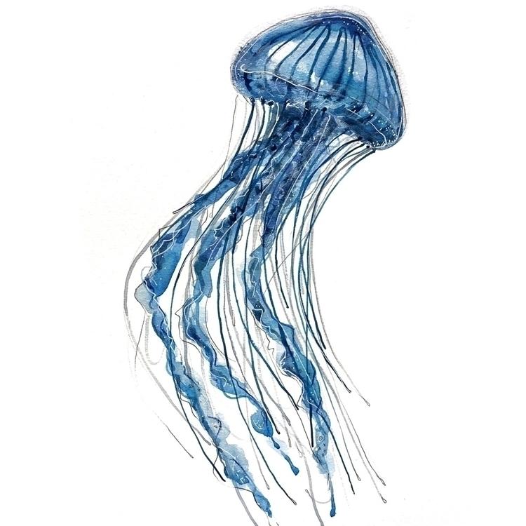 painting, watercolour, illustration - aliellydesign | ello