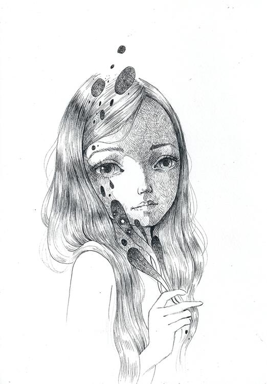 ink paper, 2016 - ania_tomicka | ello