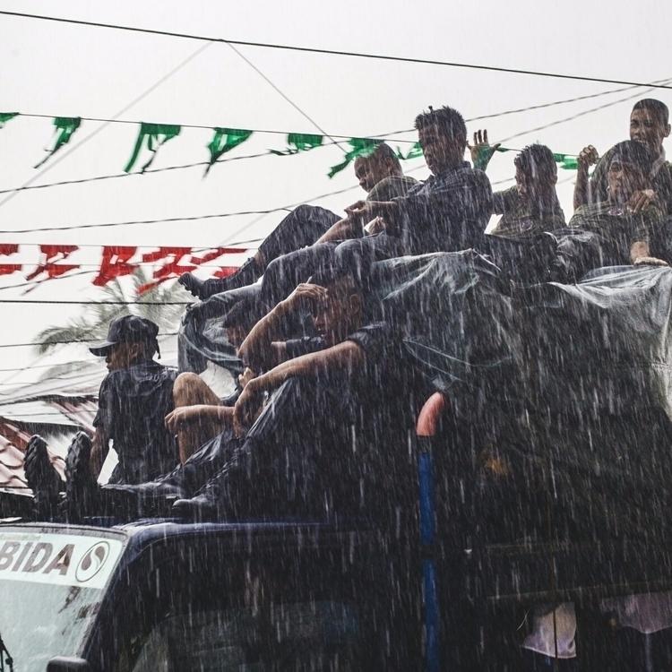 rain, bow, iamjohannes - iamjohannes | ello