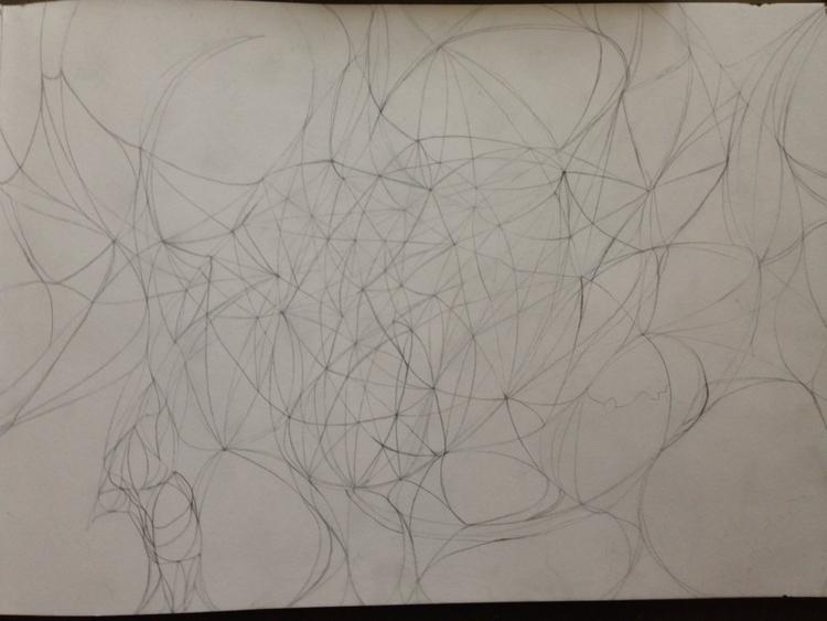 complex mind - art, geometry - thinker | ello