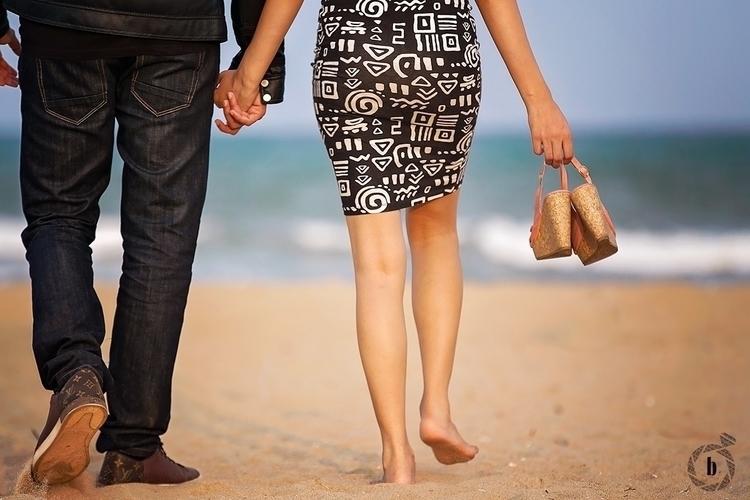 beautiful couple beach Chennai - bharatmudgalweddings | ello