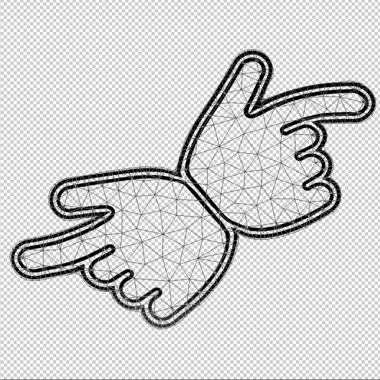 brand logo finally hands joined - davidlavaysse | ello