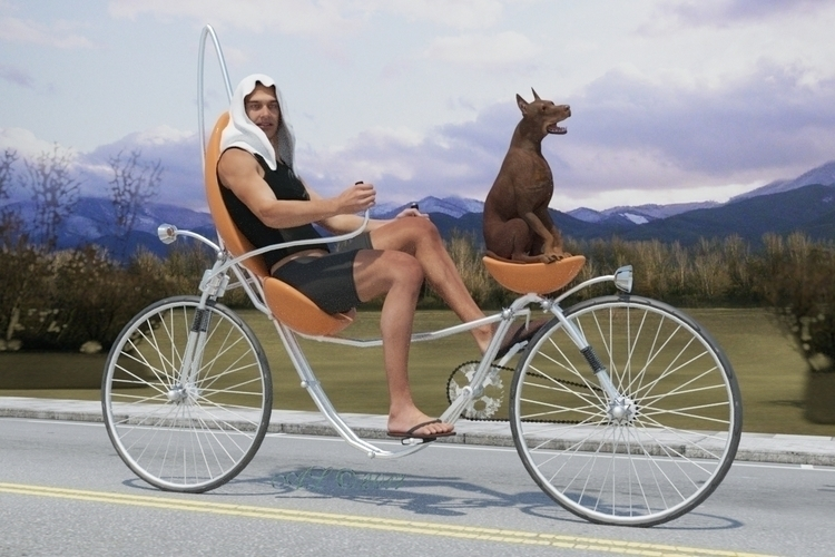 love dog - bicycle, pet, sport, extrem - lobsteralice | ello