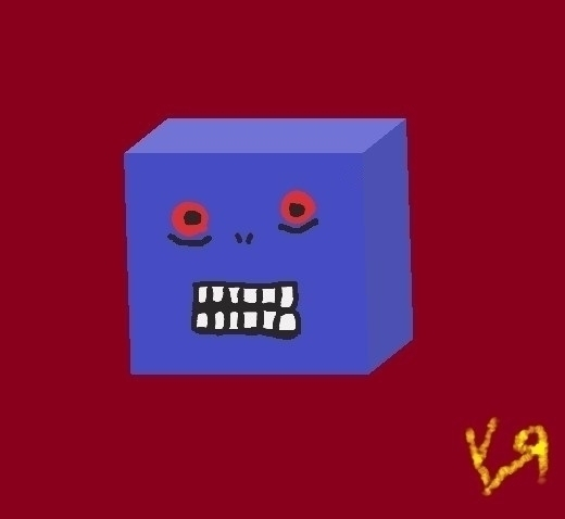 Stupid Cube Monster Richard Yat - richardfyates | ello