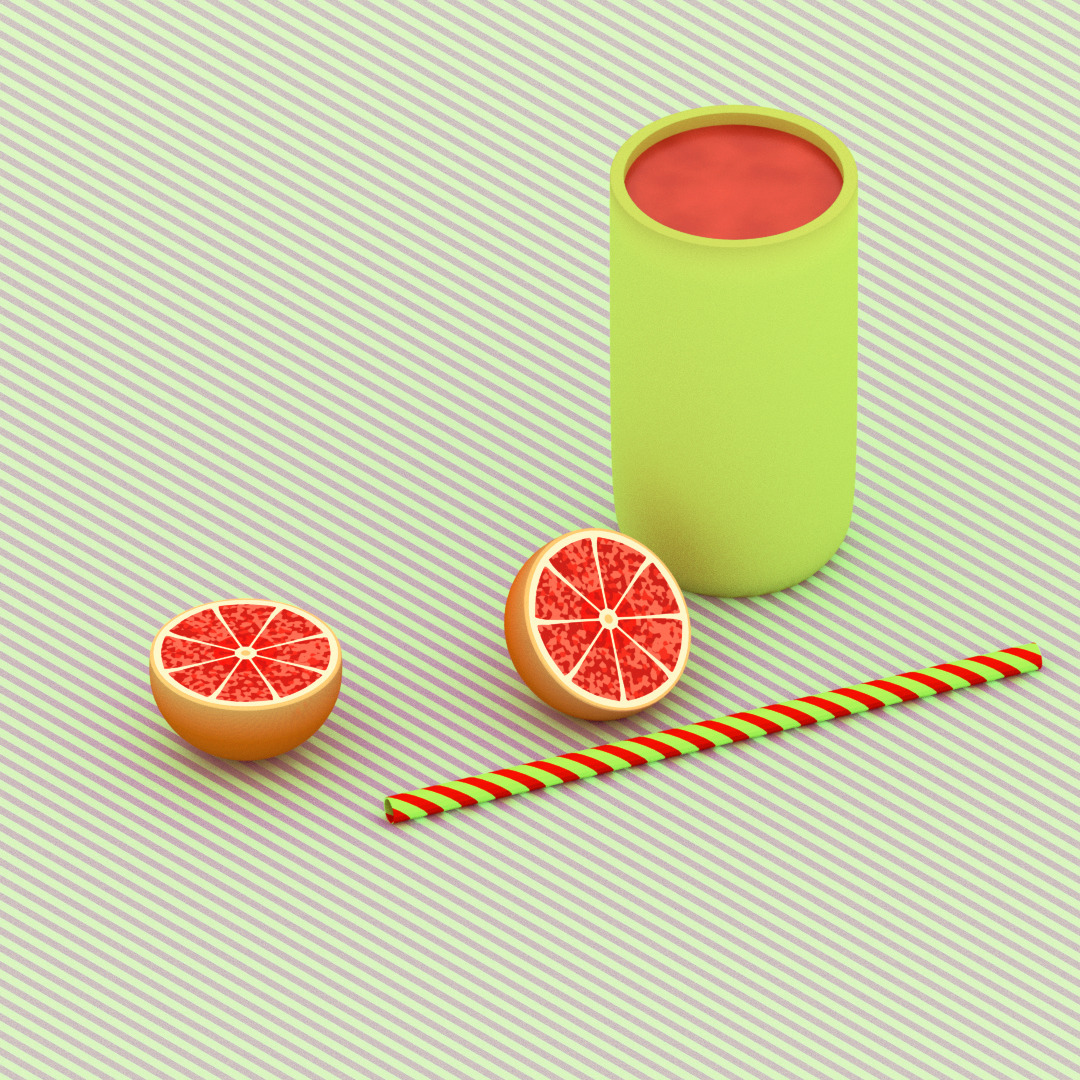 froot  - b3D, illustration, design - ikiste | ello