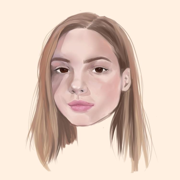 study - illustration, digitalart - qpillowcase | ello