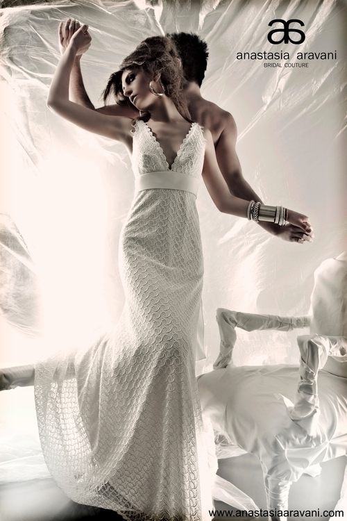 goddess, white, fabric, pattern - aravani_bridal_couture | ello