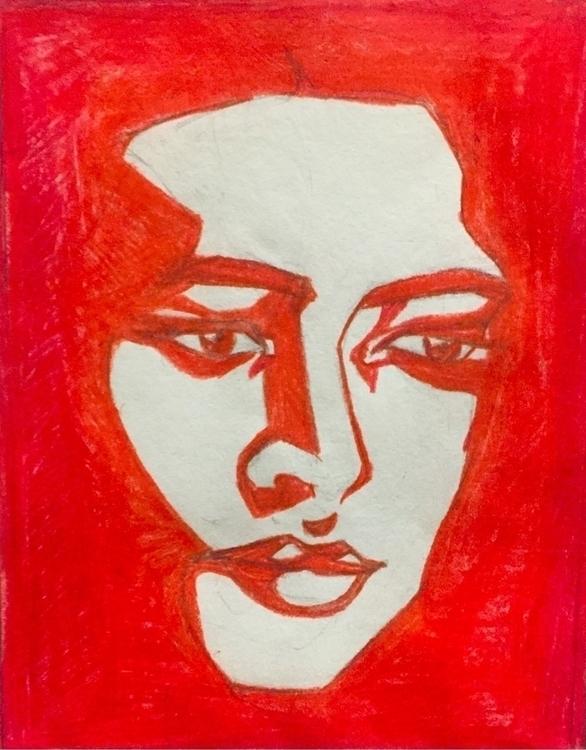 March/17 - girl, red, contour, lips - nellie380 | ello