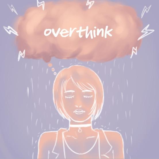 Overthink. Colors idea inspired - jigzxo | ello