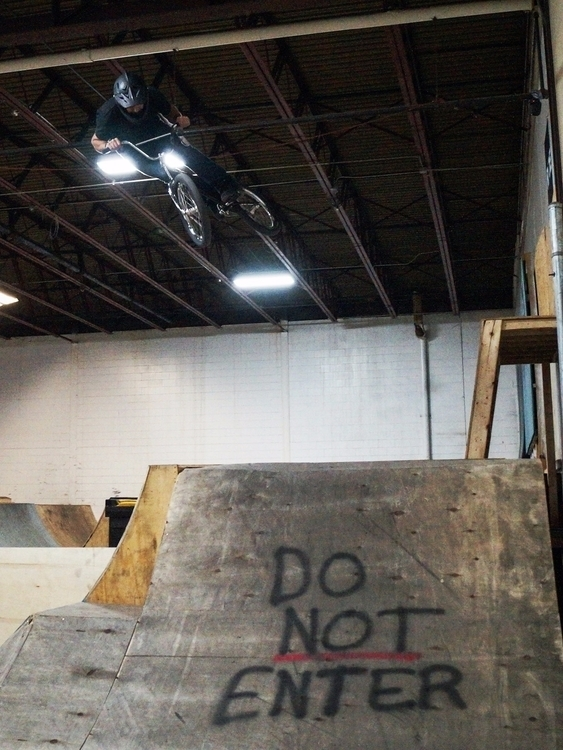 Dustin boosting hip Factory - bmx - tobecooked | ello