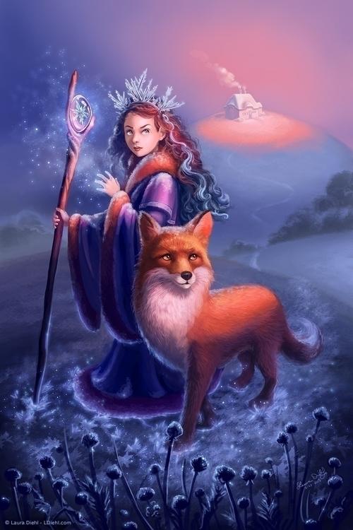 Frost Princess frosty fairytale - lauradiehl | ello