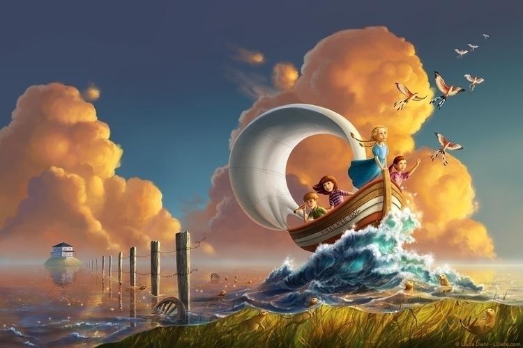Prairie Sea siblings set sail h - lauradiehl | ello