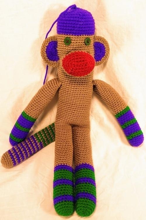 Happy monkey ready morning. fac - miniaturemonkeycreations | ello
